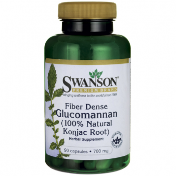 Glucomannane, riche en fibres de konjac  (100 % naturel)