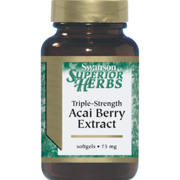 Acai-Beerenextrakt mit dreifacher Wirkung