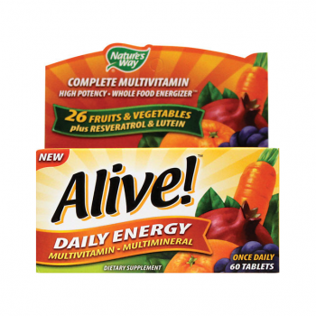 Alive! Daily Energy Multivitamin