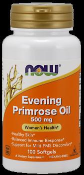 Evening Primrose Oil 500 mg Softgels