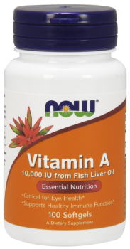 Vitamin A 10,000 IU Softgels
