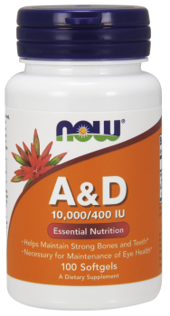 Vitamin A & D 10,000/400 IU Softgels