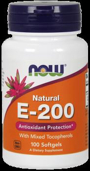 Vitamin E-200 IU Mixed Tocopherols Softgels