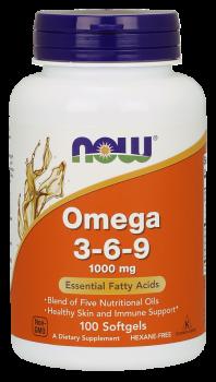 Omega 3-6-9 1000 mg Softgels