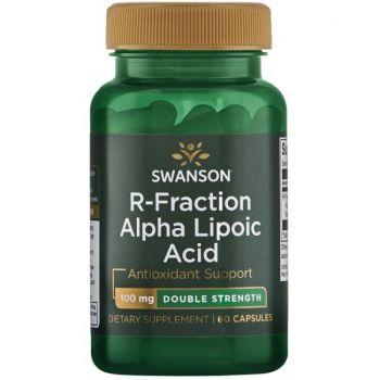 Double-Strength R-Fraction Alpha Lipoic - Acid alfa-lipoic R-Fracțiune cu eficiență dublă