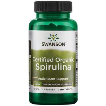 100 % de spiruline biologique certifiée