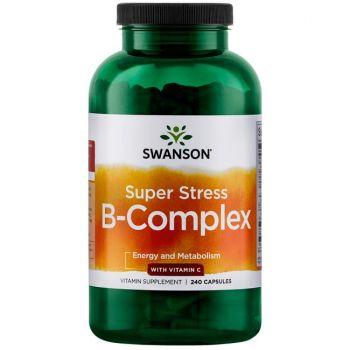 Vitamine B-complexe Super Stress avec de la Vitamine C