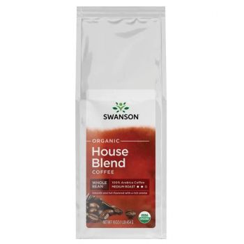 Organic House Blend Whole Bean Coffee - Medium Roast
