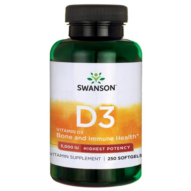 Highest Potency Vitamin D-3