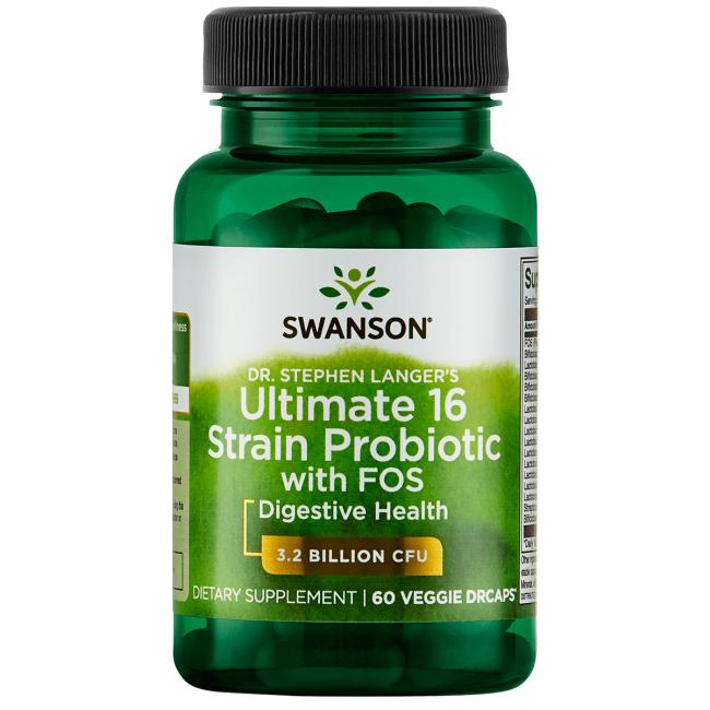 Dr. Stephen Langer's Ultimate 16 Strain Probiotic with FOS