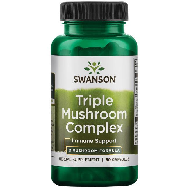 High-Potency Triple Mushroom Standardized Complex