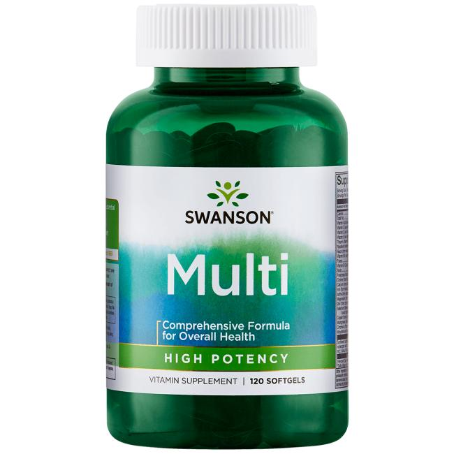 Highly Effective Multi Softgel Capsules