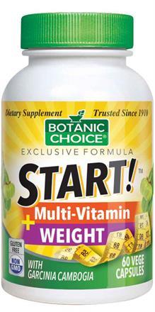 START! Multi-Vitamin + Weight