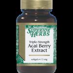 Extrait d'Acai Berry – force triple