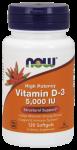 Vitamin D-3 5,000 IU Softgels