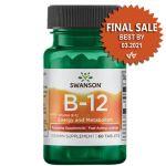 Supplément sublinguale vitamine B-12