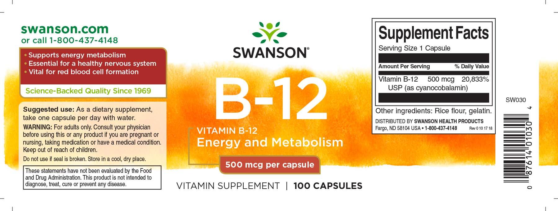 European Vitamin Supplements