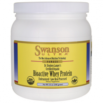 Certified Biological Natural Bioactive Whey Protein
