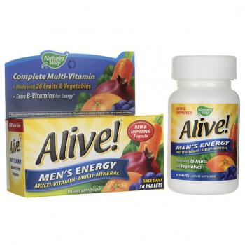Alive! Men's Energy Multi-vitamin Multi-mineral