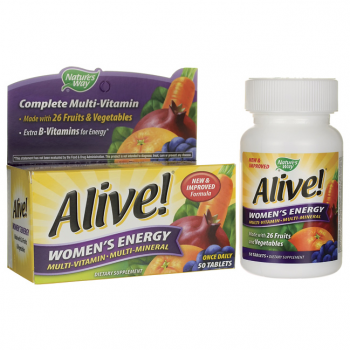 Alive! Women's Energy Multi-vitamin Multi-mineral