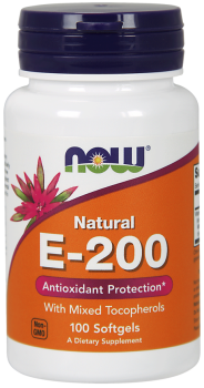 Vitamin E-200 IU Mixed Tocopherols Softgels