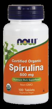 Spirulina 500 mg Tablets, Organic