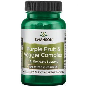 Complexe antioxydant pourpre de fruits et de légumes