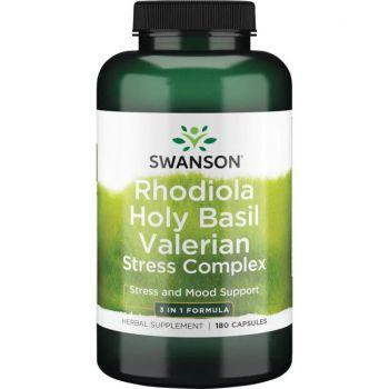 Rhodiola, Basilic, Valériane complexe de stress