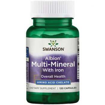 Albion Multi-Mineral With Iron