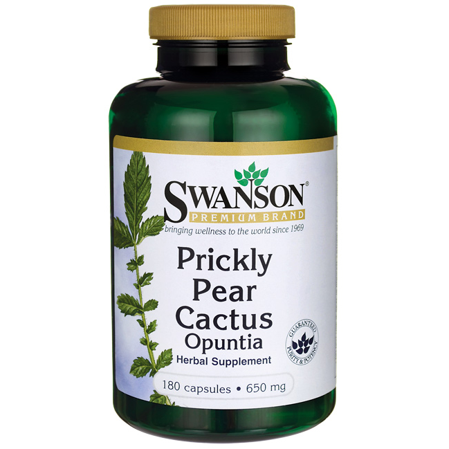 Prickly Pear Cactus Opuntia | Swanson Health Products Europe