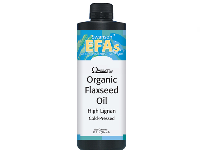 Flaxseed oil high lignan