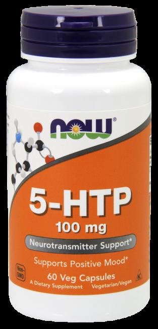 5-HTP 100 mg 60 Veg Capsules