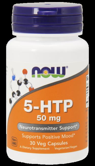 5-HTP 50 mg 30 Veg Capsules