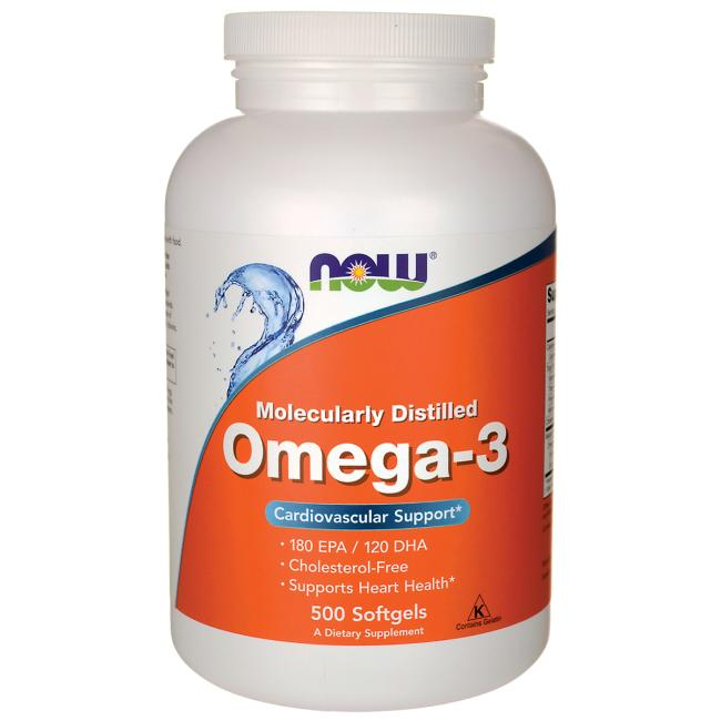 Molecularly Distilled Omega-3