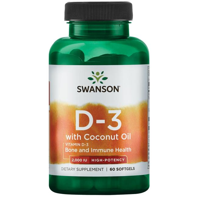 Vitamin D-3 with Coconut Oil