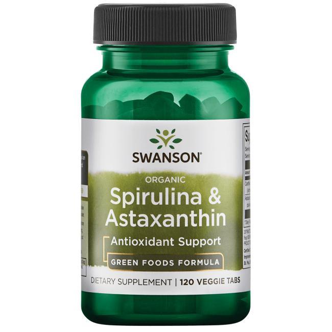 Organic Spirulina & Astaxanthin