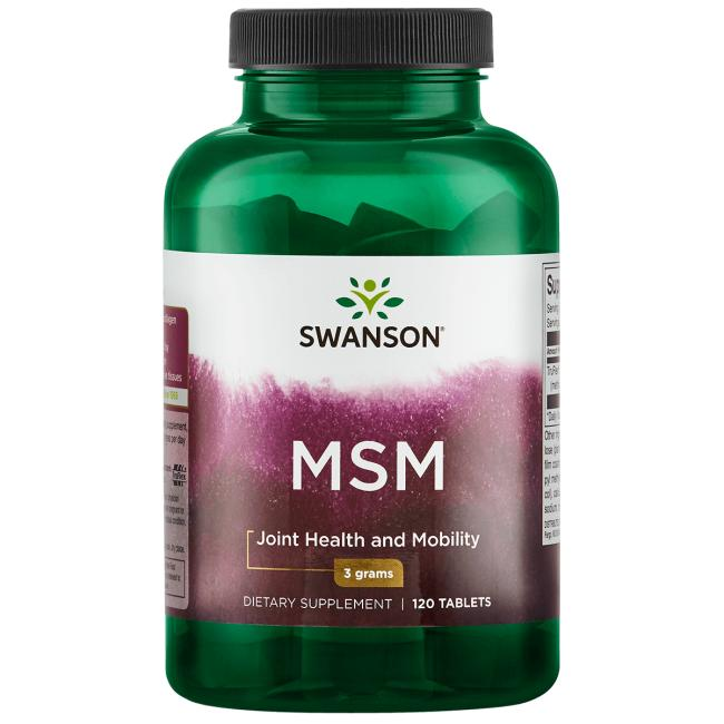 MSM | Swanson Health Products Europe