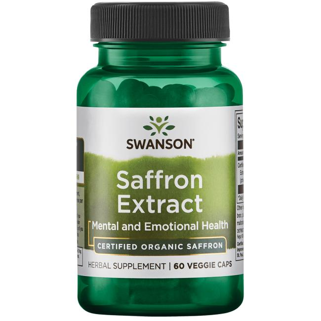 Saffron Extract 2 Safranal Swanson Health Products Europe