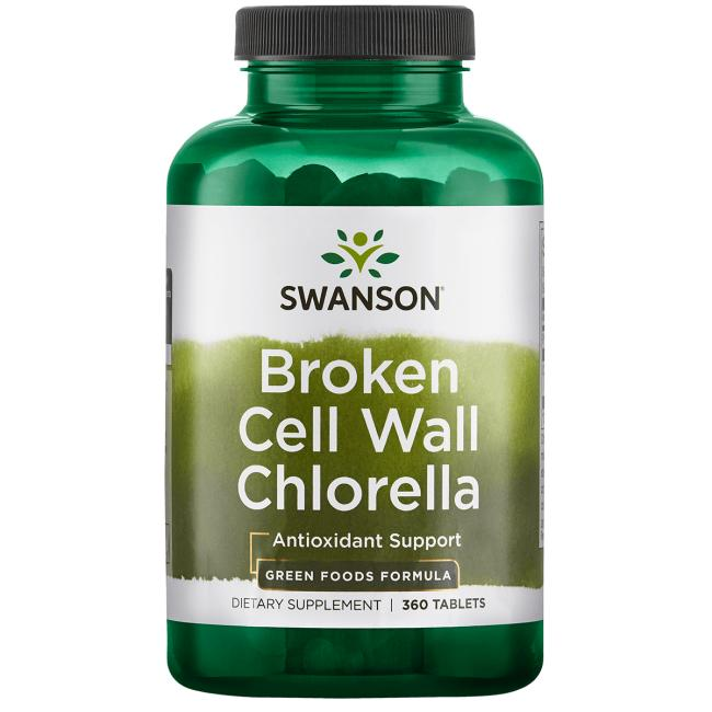 Broken Cell Wall Chlorella