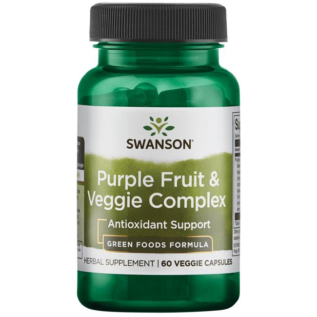 Whole Food Purple Antioxidants Fruit & Veggie Complex