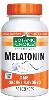 Melatonin 3 mg 60 loz. Orange Flavored