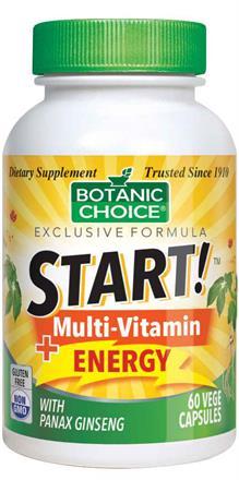 START! Multi-Vitamin + Energy