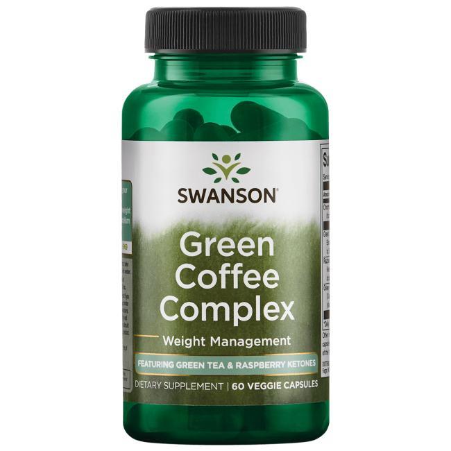 Green Coffee, Green Tea and Raspberry Ketone Complex