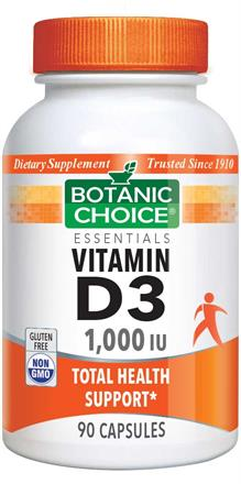 Vitamin D3 - 1000 IU Capsules