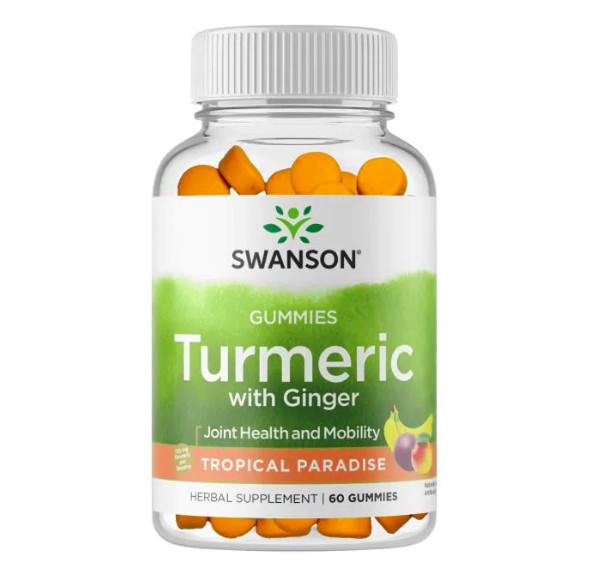 Turmeric with Ginger Gummies - Tropical Paradise