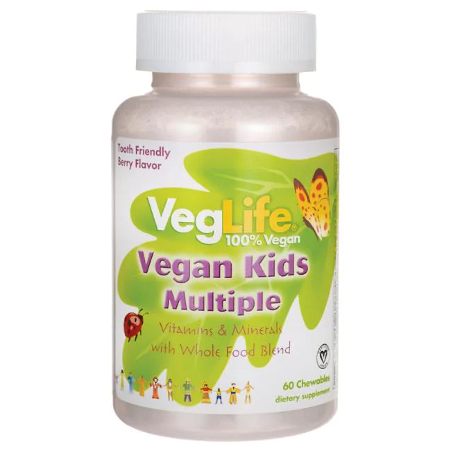 Vegan Kids Multiple - Berry Flavor