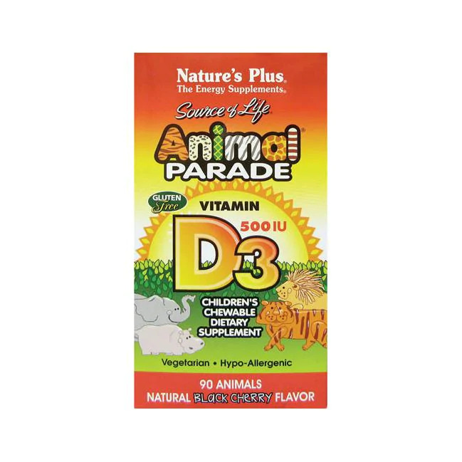 Animal Parade Vitamin D3 Black Cherry