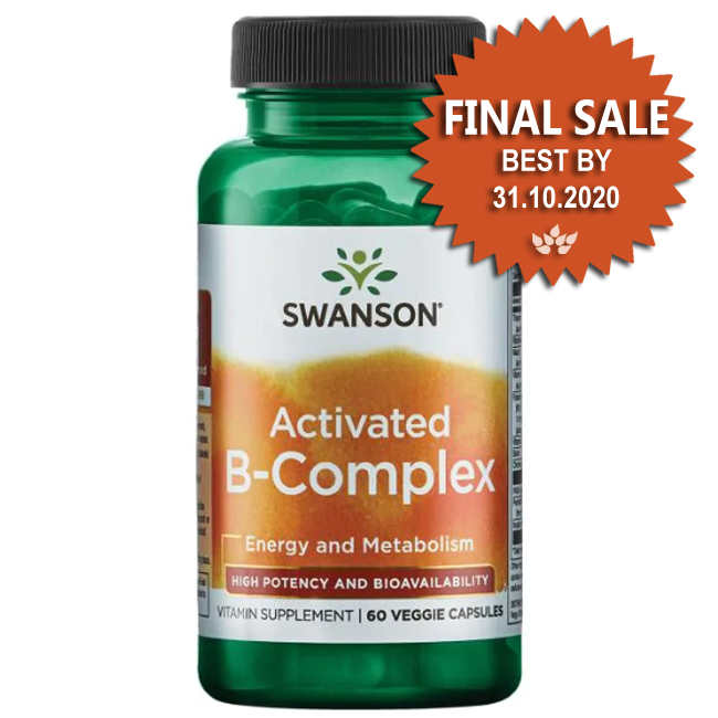 Activated B-Complex High Potency and Bioavailability