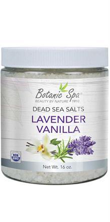 Dead Sea Salts - Lavender Vanilla Scented