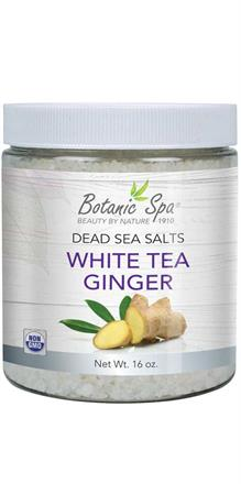 Dead Sea Salts - White Tea Ginger Scented